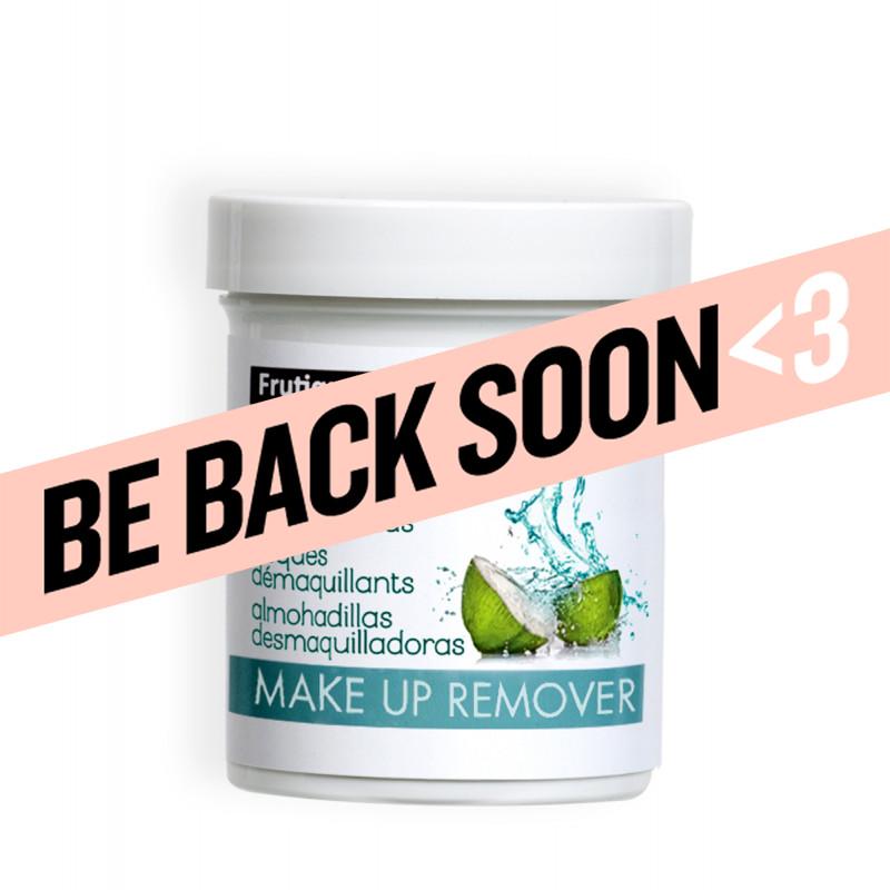 frutique coconut water makeup remover pads 65pc