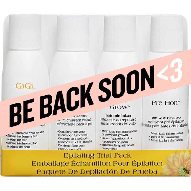 gigi epilating lotion pre pack 4 pc