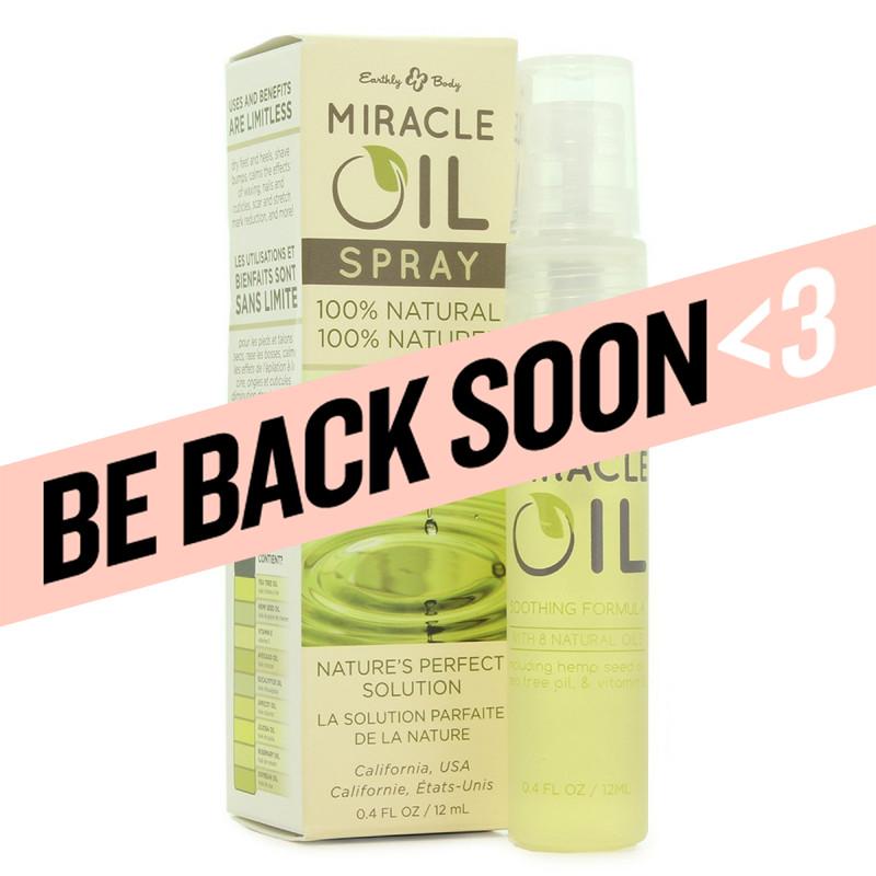 miracle oil spray 12ml..