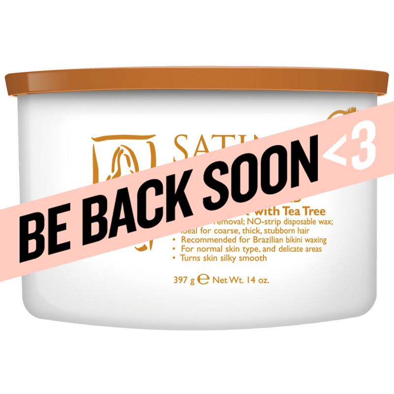 satin smooth calendula gold hard wax 14oz # ssw14ctg