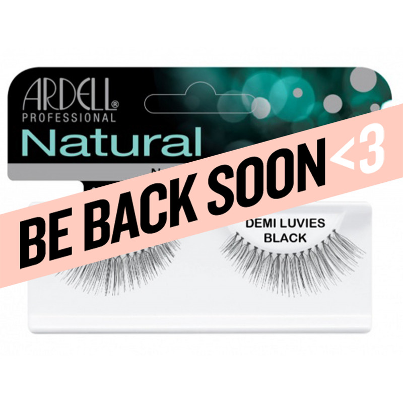 ardell natural lashes demi luvies black