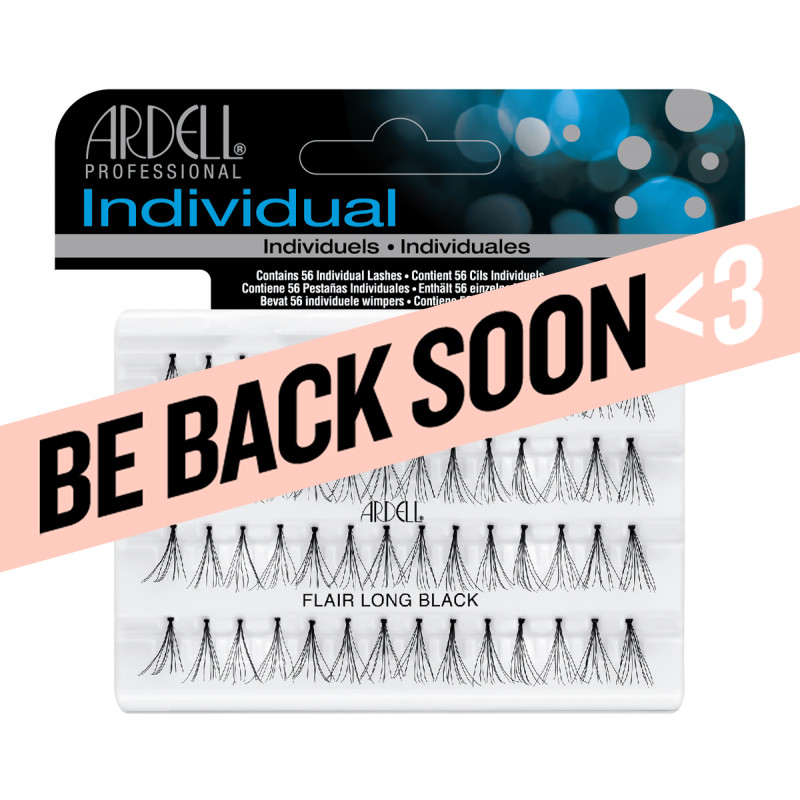 ardell individual lashes flare long black