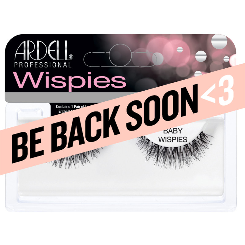 ardell natural lashes baby wispies black