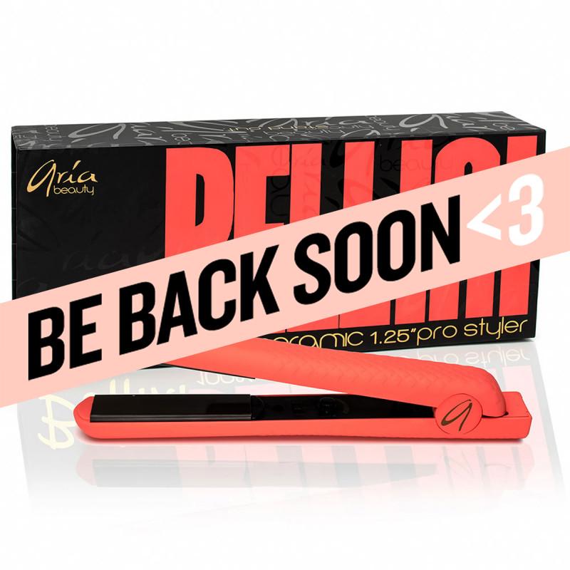 aria bellini 100% ceramic hair straightener 1-1/4