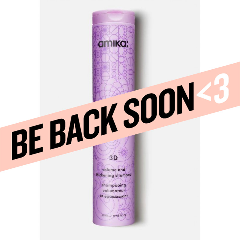amika: 3d volume & thickening shampoo 300ml/10.1oz
