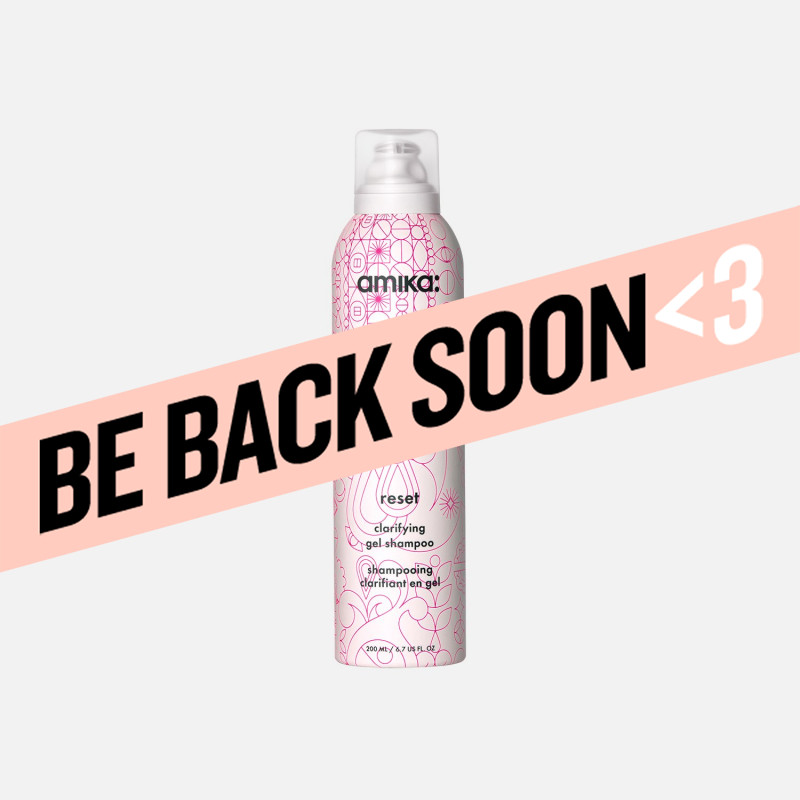 amika: reset clarifying gel shampoo 200ml/6.7oz
