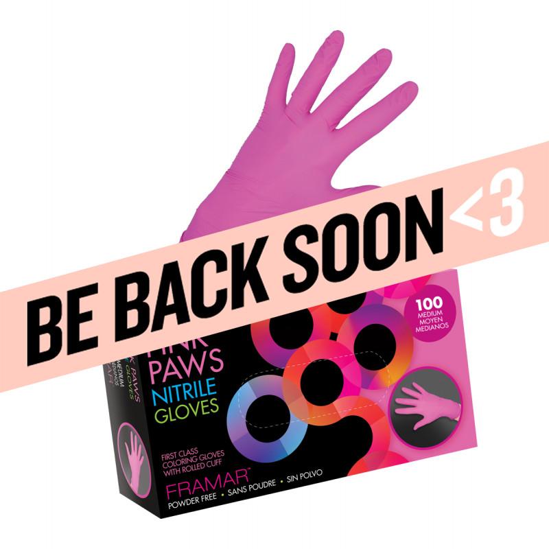 framar pink paws nitrile ..