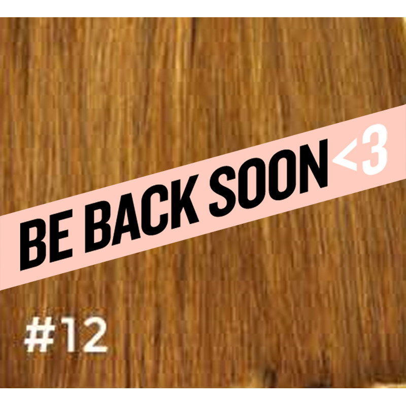 gbb clip-in hair extensions #12 18