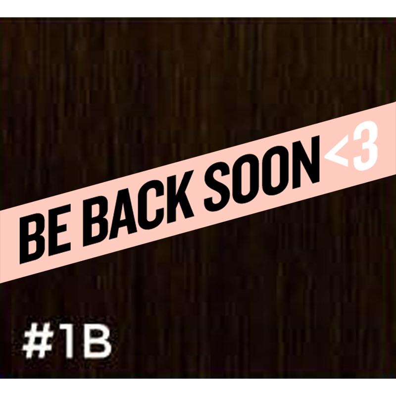 gbb clip-in hair extensions #1b 14