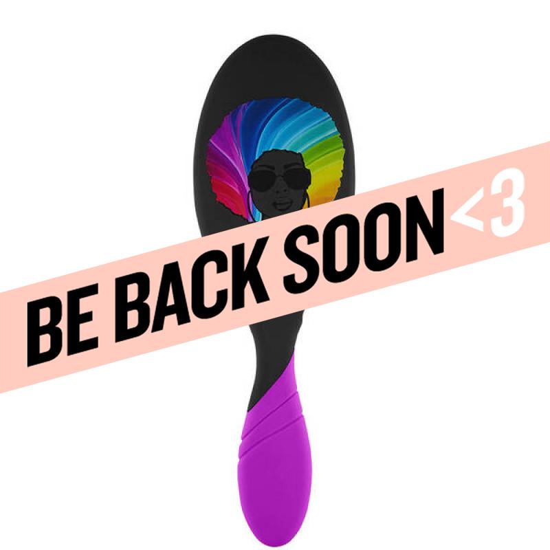 wetbrush pro limited edition! pro detangler pride - afro