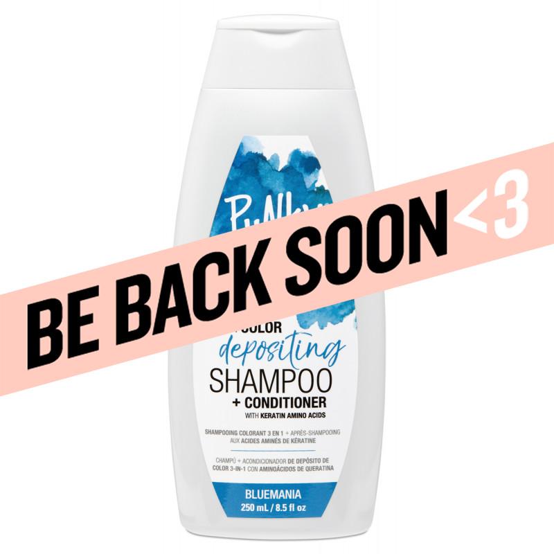 punky colour bluemania 3-in-1 color depositing shampoo + conditioner 8.5oz
