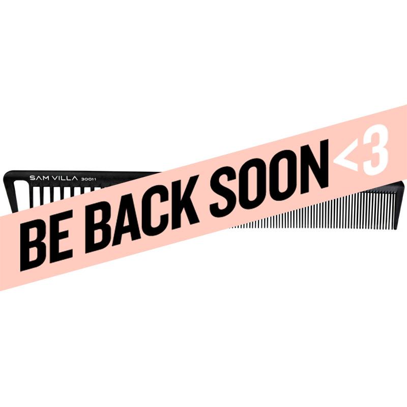 sam villa signature series short cutting comb black #30011
