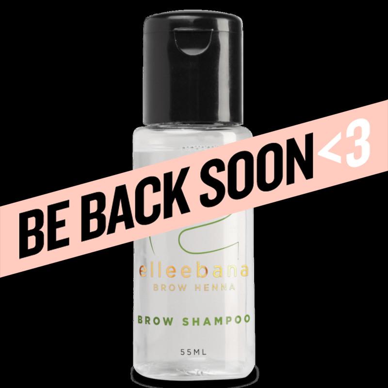 elleebana henna brow shampoo 55ml