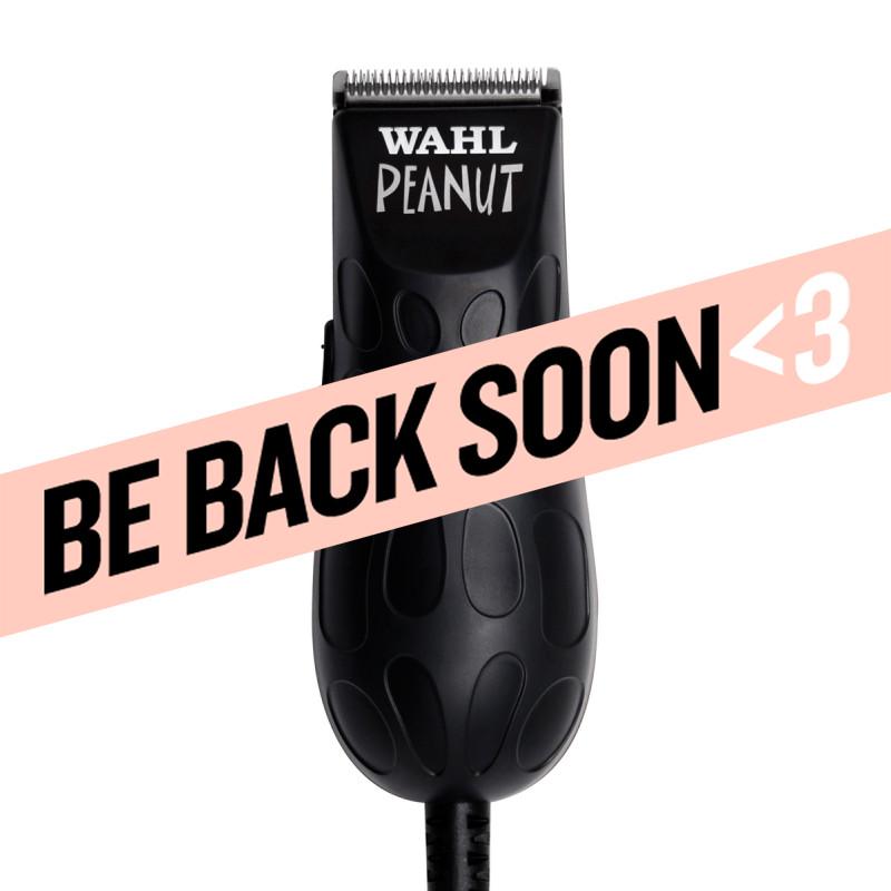 wahl peanut® (black) professional corded miniature clipper/trimmer #56100