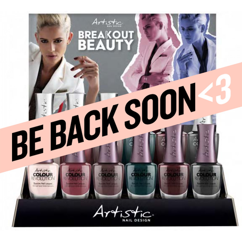 artistic breakout beauty gloss and revolution 12 piece collection