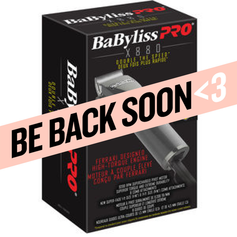 babyliss pro high-frequency, supercharged pivot motor clipper # babf880c