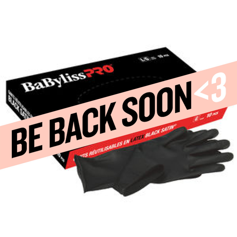 babylisspro reusable latex gloves (small) # bes33710smucc