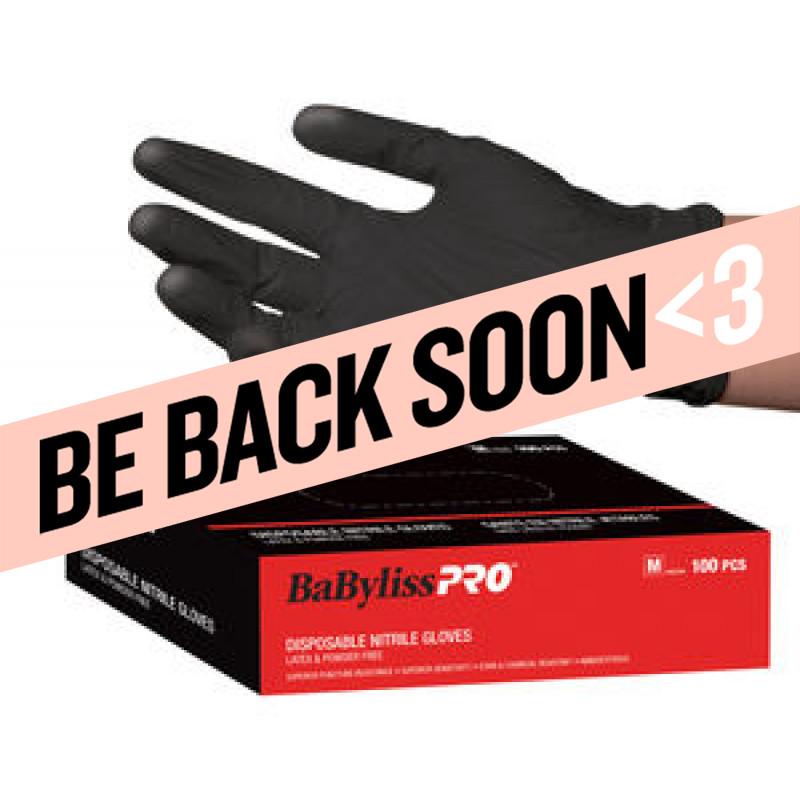 babylispro disposable nitrile gloves – small # besnitsmucc