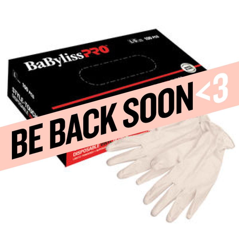 babylisspro disposable vinyl gloves (large) # bestouchlgucc