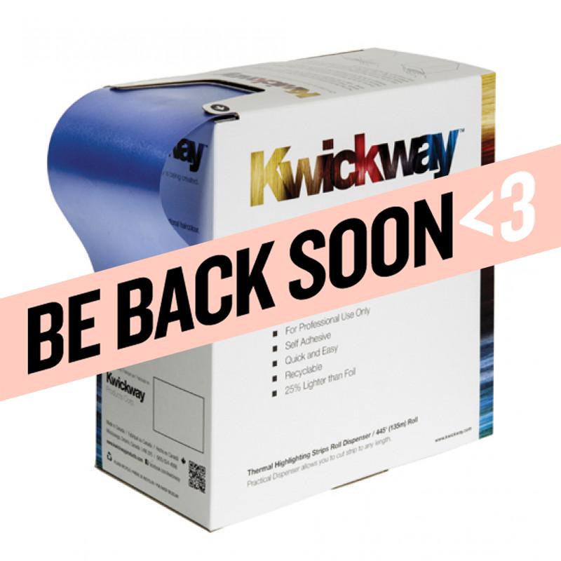 """kwickway roll dispenser 3-3/4"""" x 445' roll (blue) # kwrb"""