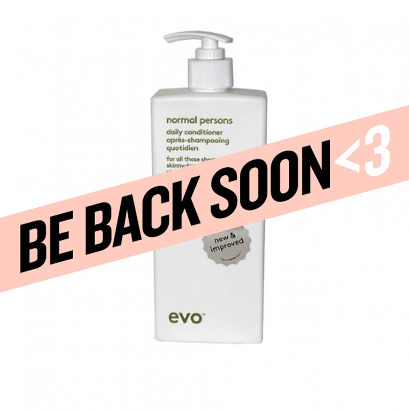 evo normal persons daily conditioner 500ml