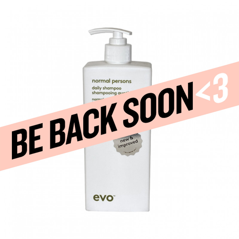 evo normal persons daily shampoo 500ml
