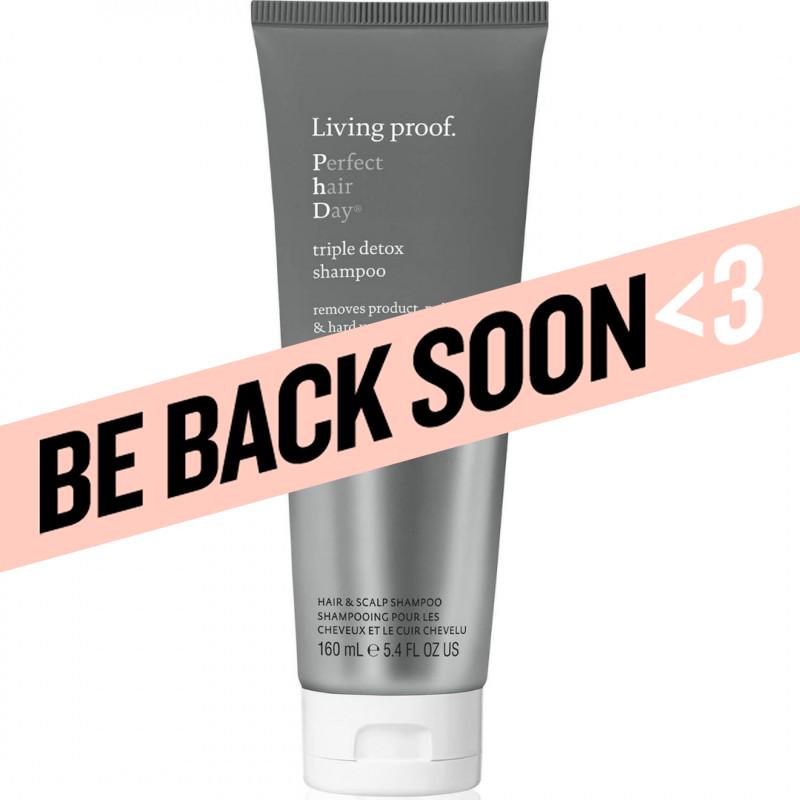 living proof perfect hair day triple detox shampoo 5.4oz