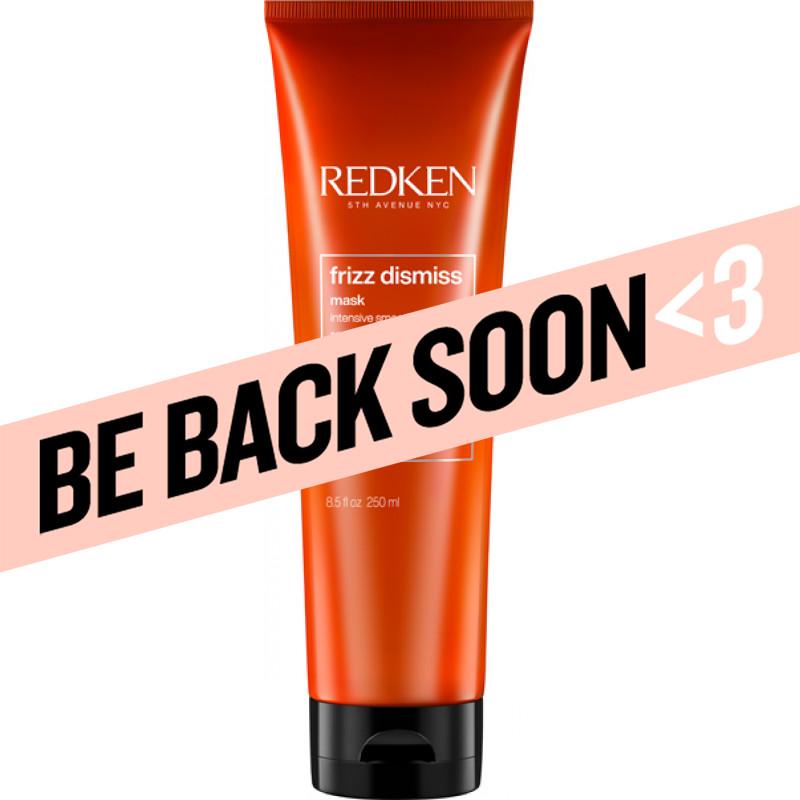 redken frizz dismiss hair mask intense smoothing treatment 250ml