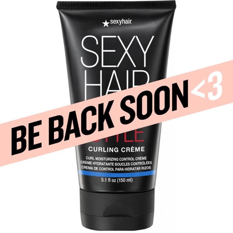 style sexy hair curling crème moisturizing control crème 5.1oz