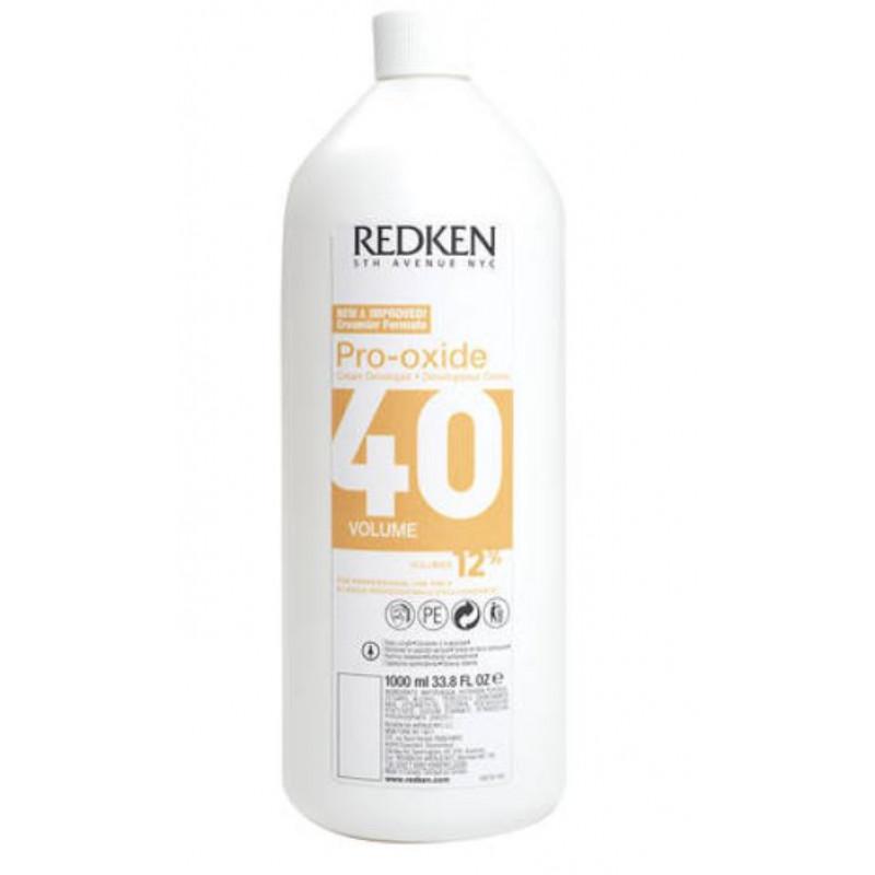 redken pro-oxide developer 40 volume litre