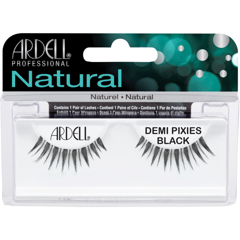 ardell natural lashes demi pixies black