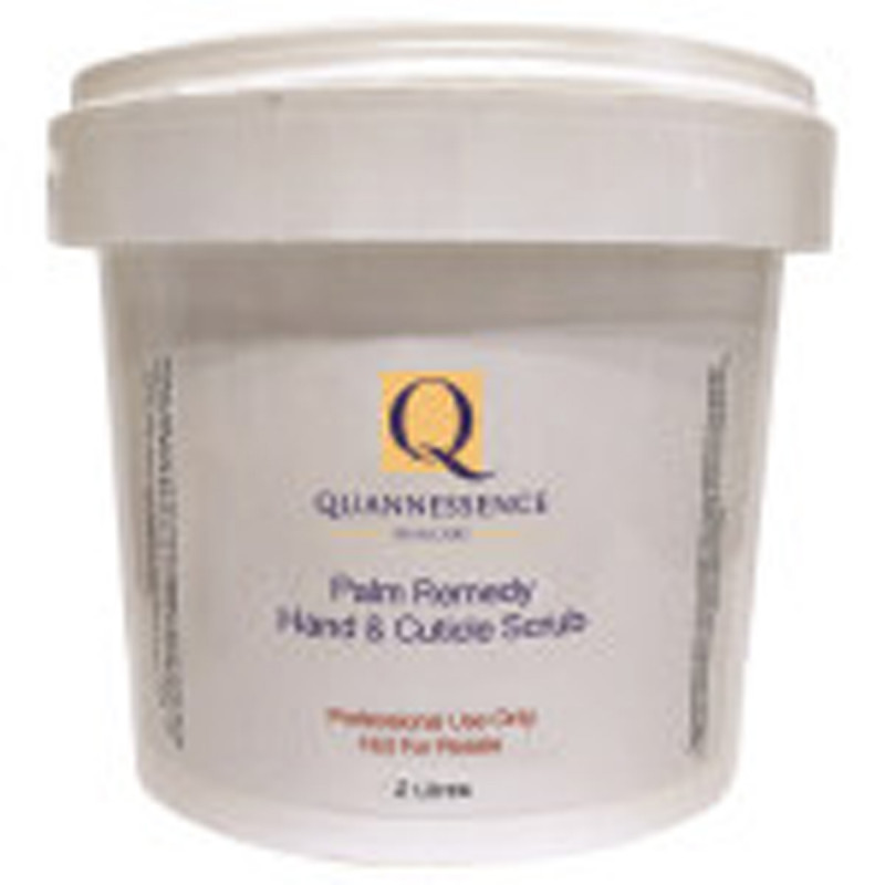 quannessence body luv palm remedy hand and cuticle scrub 2000ml
