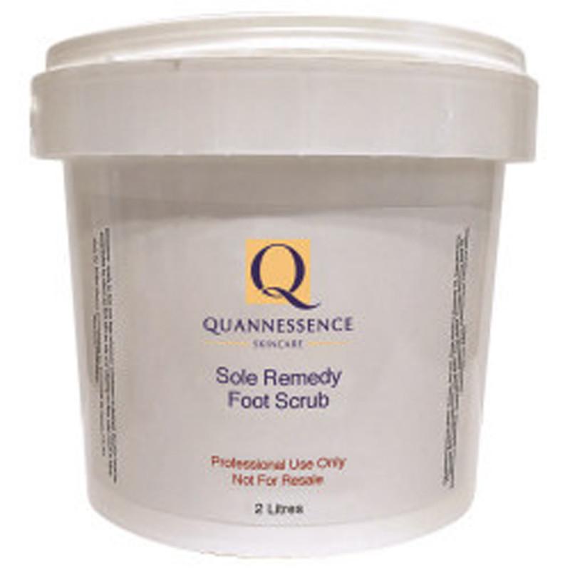 quannessence sole remedy foot scrub 2000ml