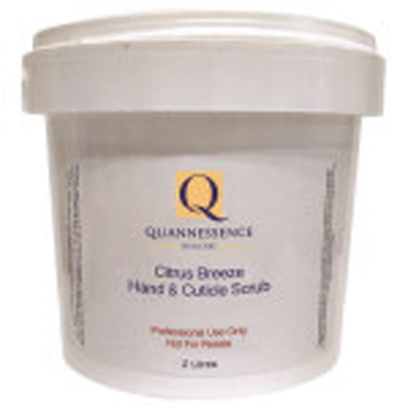 quannessence body luv citrus breeze hand and cuticle scrub 2000ml