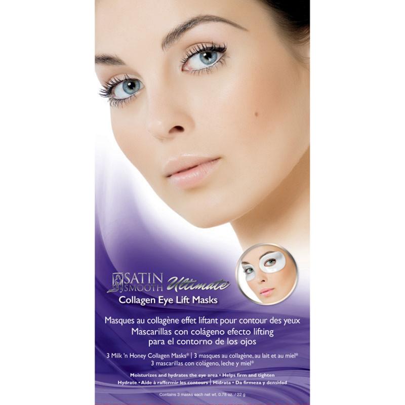 satin smooth eye lift mask 3pc # ssceye3