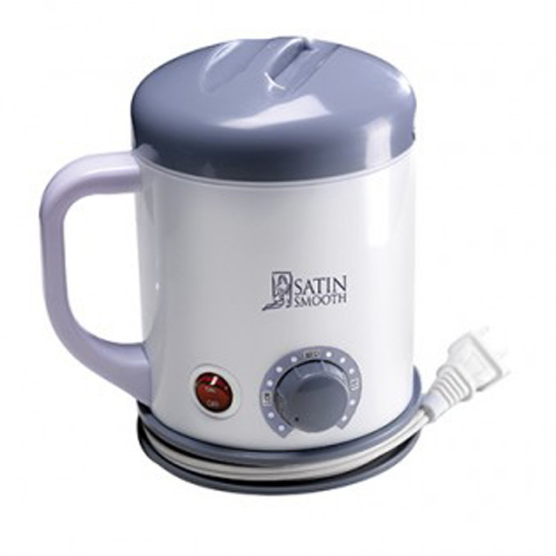 satin smooth compact wax warmer with handle # ssw10c