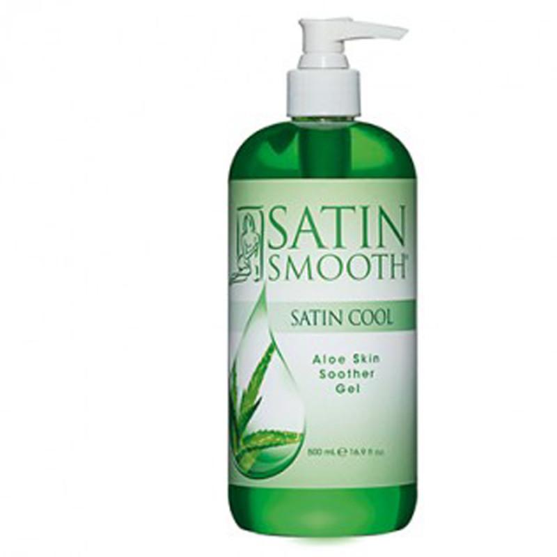 satin smooth satin cool aloe vera skin soother gel 16 oz # sswla16g