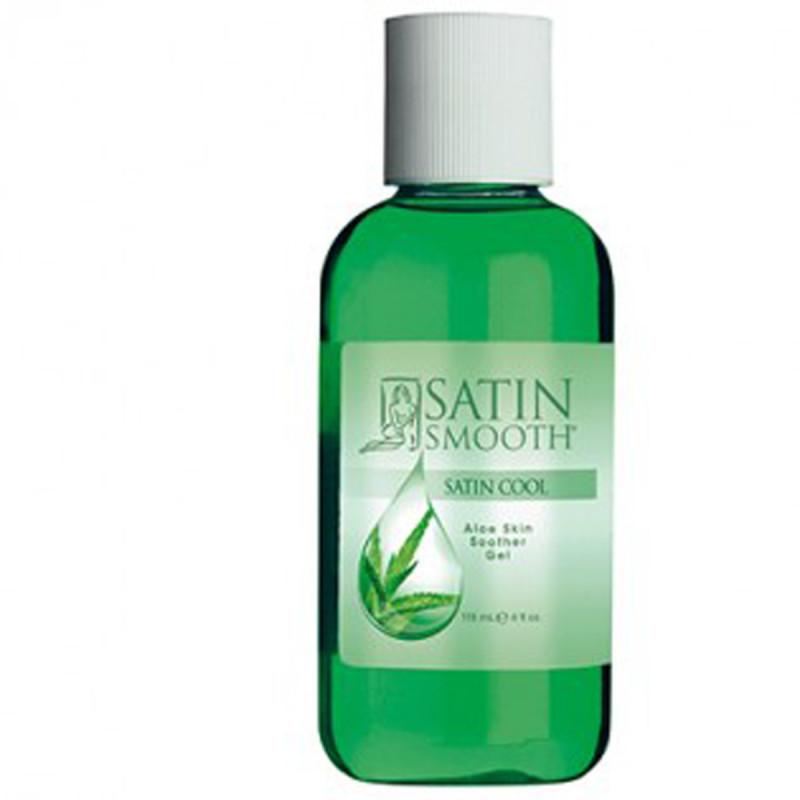 satin smooth satin cool aloe vera skin soother gel 4 oz # sswla4g
