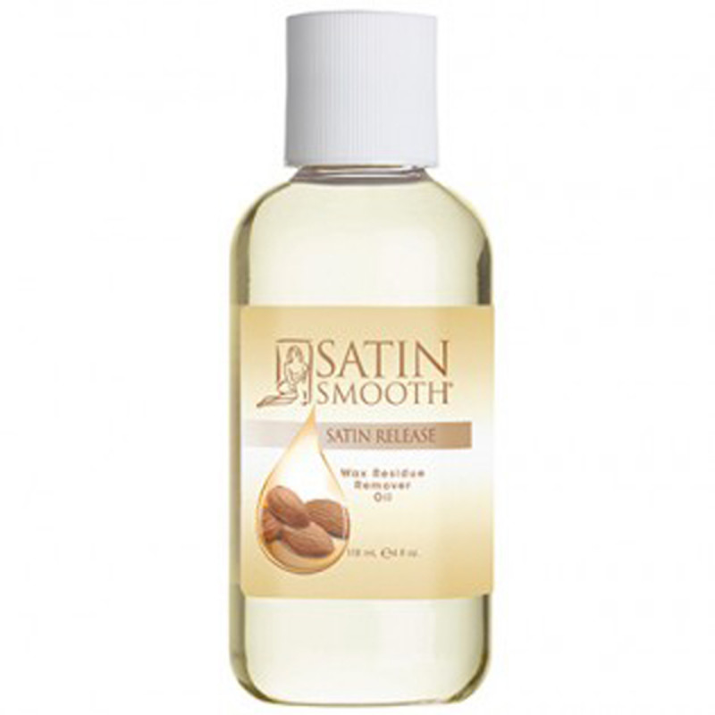 satin smooth satin release wax residue remover oil 4 oz # sswlr16g