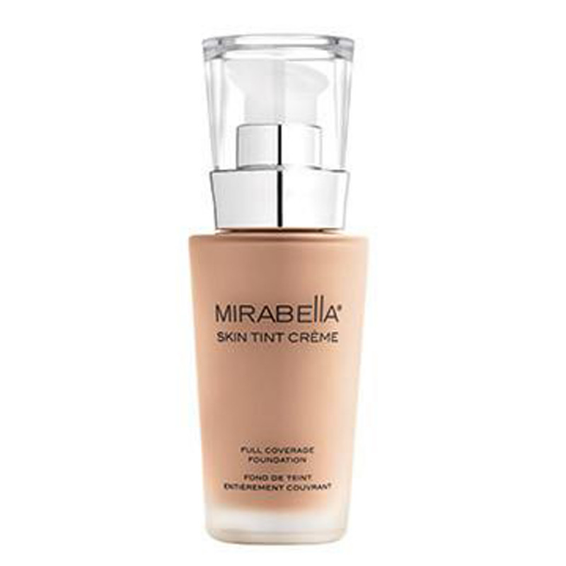 mirabella skin tint creme mineral foundation iii w