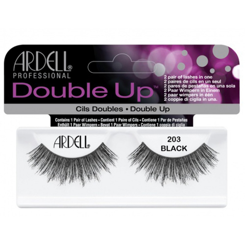 ardell double up lashes black #203