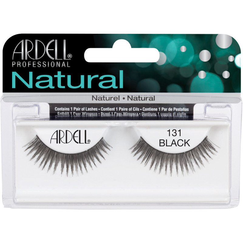 ardell natural lashes black #131