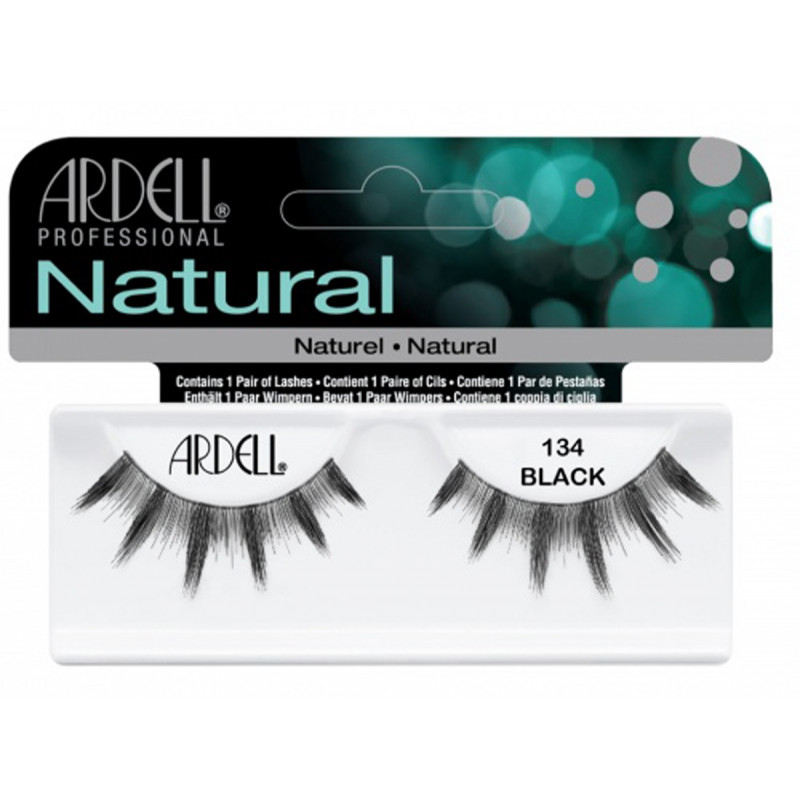 ardell natural lashes black #134