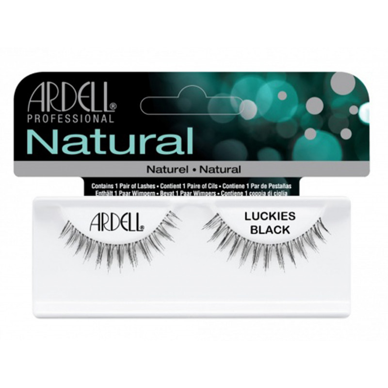 ardell natural lashes luckies black