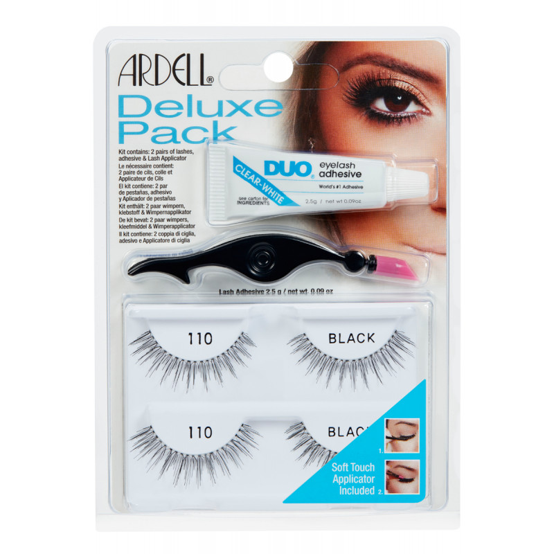 ardell natural lashes deluxe pack #110