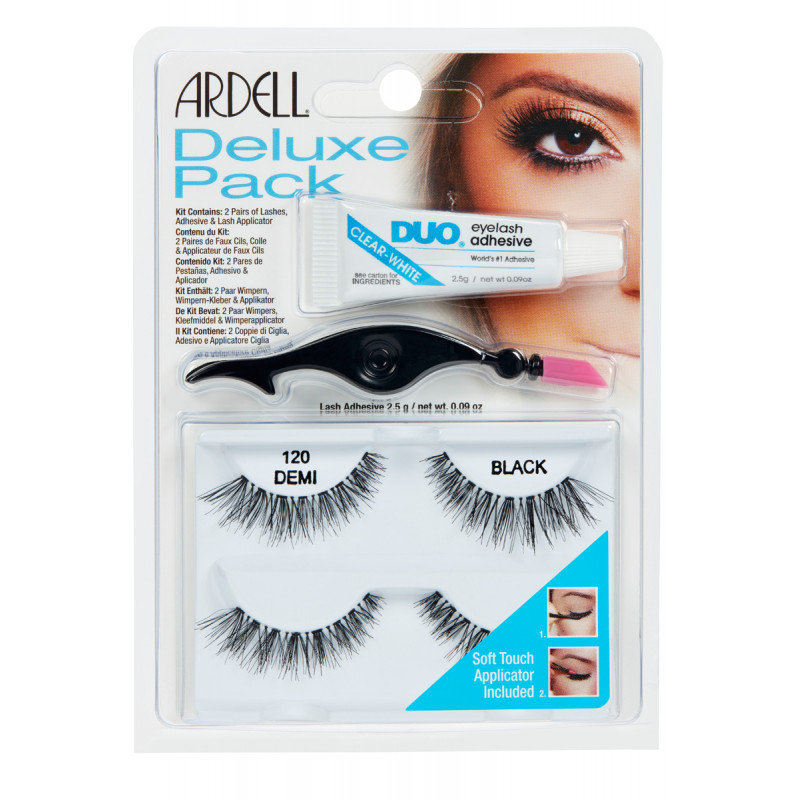 ardell natural lashes deluxe pack #120