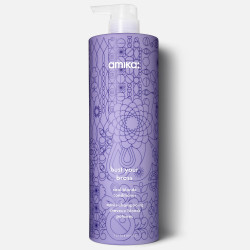 amika: bust your brass cool blonde conditioner 1000ml/33.8oz