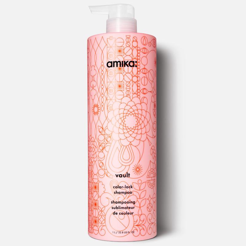 amika: vault color-lock shampoo 1000ml/33.8oz