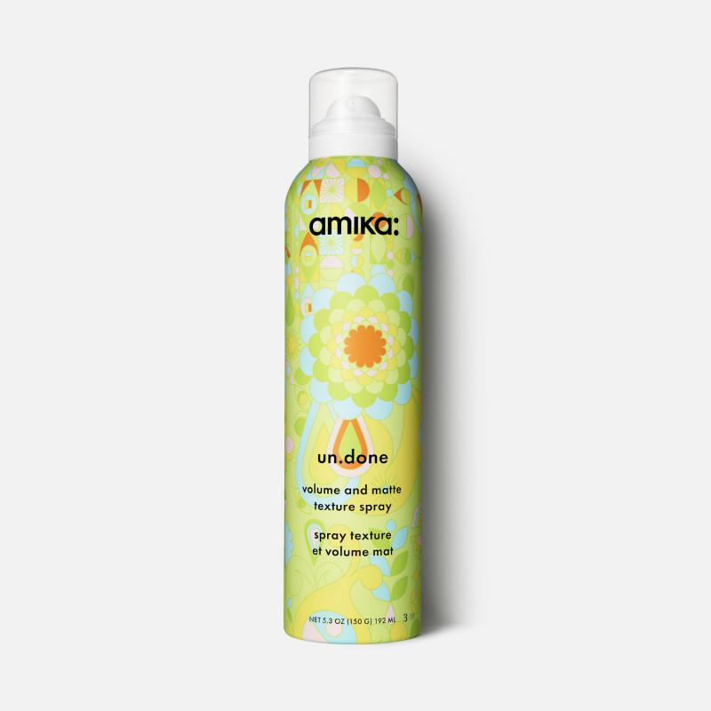 amika: un.done volume & matte texture spray 232.46ml/5.3oz