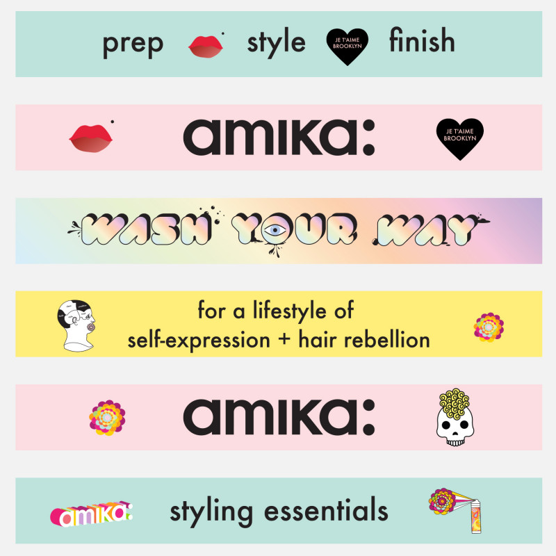 amika: shelf strips adhes..